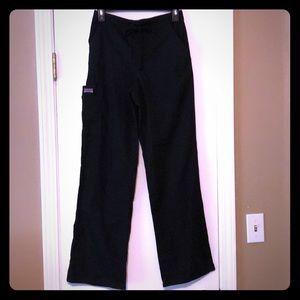 Cherokee black scrub pants